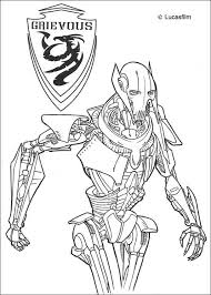 Small Picture General grievous coloring pages Hellokidscom