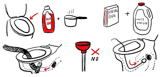 diy unclog bathroom sink 5 methods for unclogging a clogged toilet without a plunger