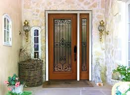 fiberglass vs steel entry doors security entrance