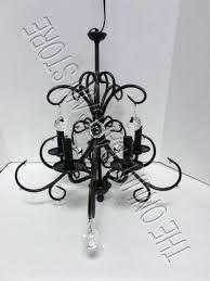 crystal and iron chandelier pottery barn glass crystal ball five arm chandelier bronze finish nib swarovski