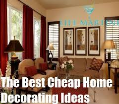 Surprising How To Decorate Living Room In Low Budget Home Design Cheap House Decorating Ideas