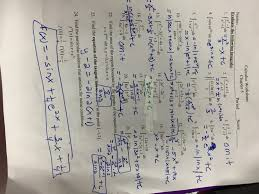 calculus review sheet martin melissa ap calculus ab
