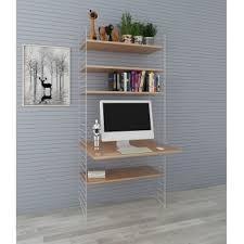 diy wood wall shelf in living room