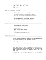 Awesome Collection Of Resume Sample Australia 8 Executive Chef