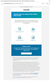 Linkedin Marketing Solutions Sales Follow Up Email Sequence