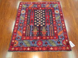 geometric tribal reproduction rug