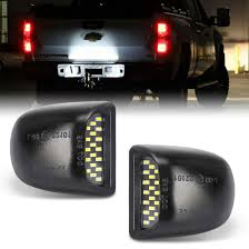Silverado Abs Light Led License Plate Light Lamp Assembly Error Free Replacement For Cadillac Escalade Chevy Silverado 1500 2500 3500 Suburban Tahoe Gmc Sierra 1500 2500