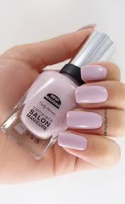 Sally Hansen Gel Polish Light Sally Hansen Grace Shell Y Perfect Light Creme Purple