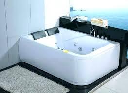 bathtub shower combo high end two headrest built in faucet and fiberglass tub inch 54 x 30 bathtubs corner