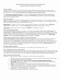 Attractive Esthetician Resume Template Sample With List Of