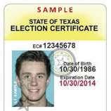 Antonio Texas Acceptable Express-news Of Forms Id For - Elections Voter San