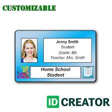 School Id Cards No Minimum Quantities Orders Order Id Badges On
