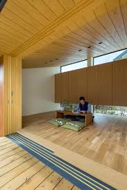 Windowless Office Design Alts Design Offices Maibara House Has A Small Garden Pavilion