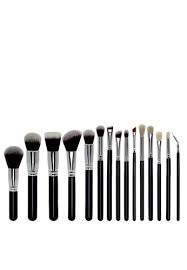 brush works 15 pieces premium makeup brush set on zalora philippines