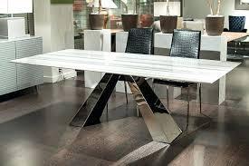 quartz top dining table room board parsons quartz table