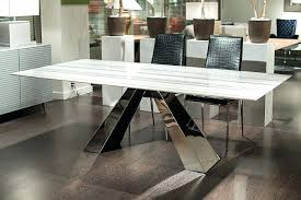quartz top dining table room board parsons quartz table