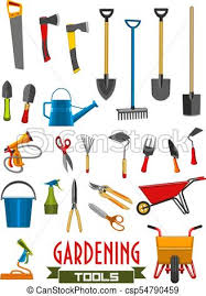 Farm Tools Vector Farm Gardening Tools Isolated Icons