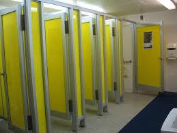 may 2016 40 pools bright yellow bathroom stalls the locker rooms beach entry pool designs