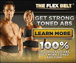wear the flex belt so you can exercise your abs anywhere anytime the flex belt has be proven to work get those amazing looking abs in no time