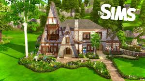 Tudor Home for Friendly Neighborhood Sorcerers // Stop Motion (Sims 4) -  YouTube