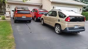 What car is the most Pontiac Aztek?