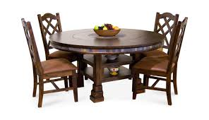 santa fe dining table and chairs. santa fe round table with 4 side chairs dining and s
