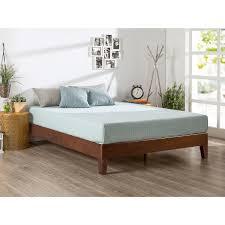 modern wood platform bed. Wonderful Modern Queen Size Modern Low Profile Solid Wood Platform Bed Frame In Espresso Inside M
