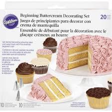 Wilton 20 Pc Beginning Buttercream Decorating Set Mia Cake House