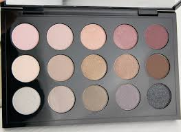 mac cosmetics eye shadow x 15 cool neutral palette review 3