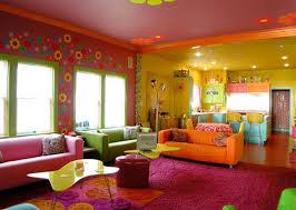 colorful living room walls. Living-room-yellow-paint-photo-ECVJ Colorful Living Room Walls R