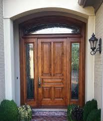 Door Design : Simple Exterior Wood Door Project For Awesome ...
