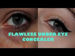 flawless concealer for extremely dark under eye circles