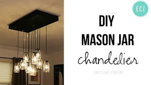 mason jar chandelier small1 build diy mason jar chandelier