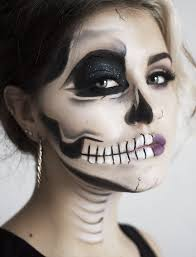 this y half skeleton gives you a chance to chel glamour this we asked makeup