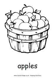 Small Picture Pear Colouring Page