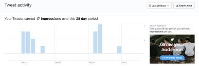 Period Impressions Size Chart How To Use Twitter Analytics To Improve Your Engagement