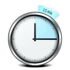 Timer 15 Mins Timer Minutes Vector Art Images Timer 15