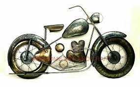 awesome antique bike wall decor on bike wall artwork with awesome antique bike wall decor rs 1 piece awesome art and craft