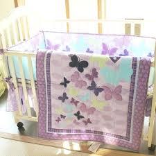 purple crib bedding sets purple baby girl crib bedding set quilt per sheet dust ruffle