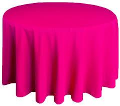 90 round polyester tablecloths fuchsia 53109 1pc pk