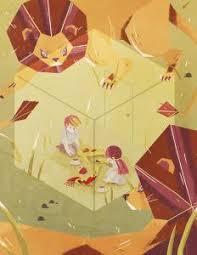 illustration based off of ray bradbury s short story the veldt the veldt by ann macarayan via behance