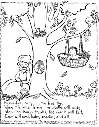 Nursery Rhyme Coloring Page Nursery Rhymes Pinterest Nursery Coloring Pages Peter The Rock L
