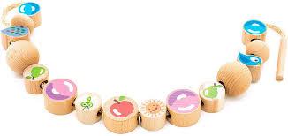 Мир деревянных игрушек Бусы Ассорти 16 шт — купить в ...