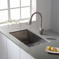 Kitchen Sink Kraus Khu100 30 30 Inch 16 Gauge Undermount Single Bowl Stainless