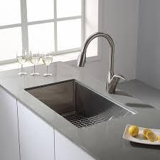 American Made Kitchen Sinks Kraus Khu100 30 30 Inch 16 Gauge Undermount Single Bowl Stainless