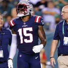 New England Patriots Wide Receiver N ...