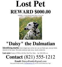 Dog Flyer Template Free Missing Animal Flyer Template Lost Animal Flyer Template Archives