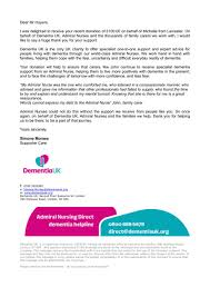 Thank You Letter For Food Donation Thank You Letters For Donations Note Donation Template Of Food