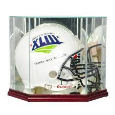 football helmet display case size