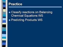unit 5 chemical reactions i intro to